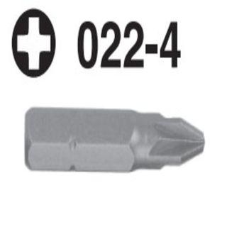 """PH1 x 36mm OAL x 5/16"""" Hex Screwdriver Bit - Hans"""