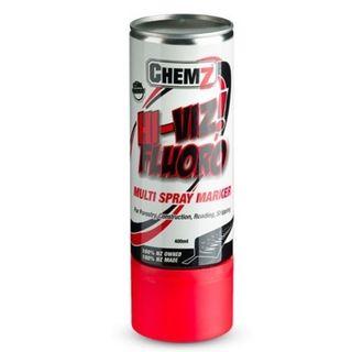 Red Hi-Viz Fluro Aerosol 400ml - Chemz