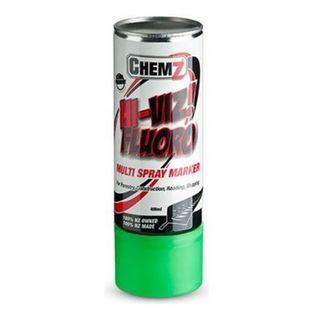 Green Hi-Viz Fluro Aerosol 400ml - Chemz