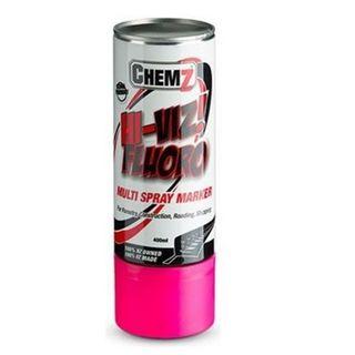 Pink Hi-Viz Fluro Aerosol 400ml - Chemz