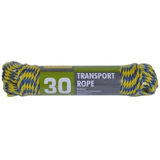5mm x 30Metre Twisted Rope - Blue/Yellow - Xcel