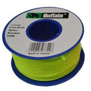 Fluro Green String Line - 100M - Buffalo