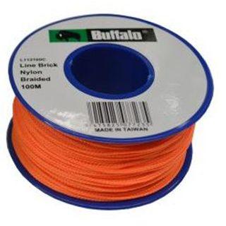 Buffalo  Fluro Orange String Line - 100M
