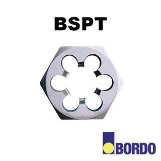1/16'-28 BSPT Carbon Steel Hex Die Nut