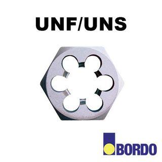 """1/4""""-32 UNEF Carbon Steel Hex Die Nut"""