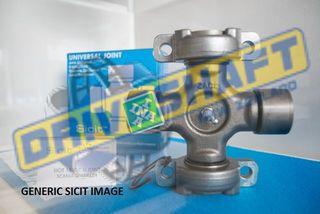 U/J 50.00 X 152.60 EX 3 BOLT PLATE VOLVO 1700 SCANIA DAF CGN