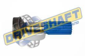 S/S 1.500 X 16 SPLINE 2.500 X .083 TUBE 1350 1410