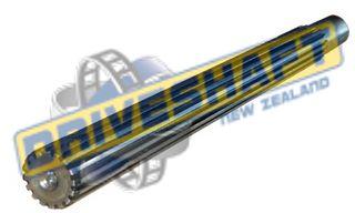SB/N SPLINED BAR - 1.75x16SPx300mm