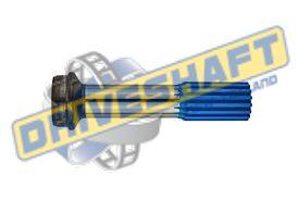 S/S 1.375 X 16 SPLINE 2.000 X .120 TUBE 1310 1330