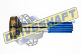 S/S 1.250 X 16 SPLINE 2.000 X .083 TUBE 1000 PTO
