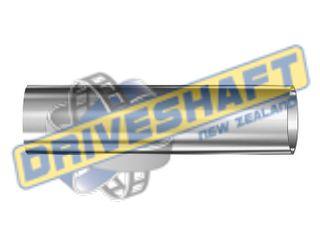 """D/TA 3.500 X .125 X 72"""" ALUMINIUM TUBE KDS4-T8 SONNAX"""