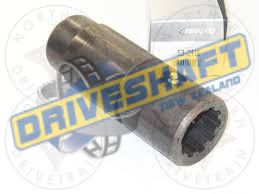 SP/S SPLINED SLEEVE FOR 2231-3 YOKE SHAFT 1310 JEEP ROCK CRAWL