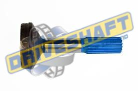S/S 1.375 X 16 SPLINE 2.500 X .065 TUBE 1310 1330