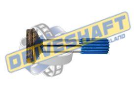 S/S 1.375 X 16 SPLINE 3.000 X .083 TUBE 1310 1330