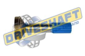 S/S 1.375 X 16 SPLINE 2.500 X .083 TUBE 1310 1330 LONG