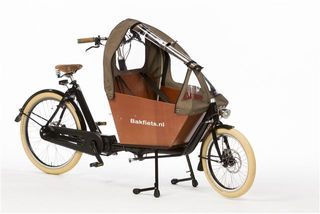 Bakfiets Canopy Tweed Brown