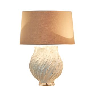Sandy Bay Table Lamp Base Cream