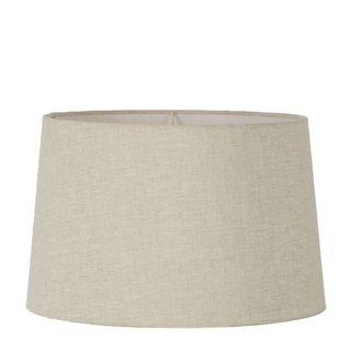 Linen Drum Lamp Shade XL Light Natural