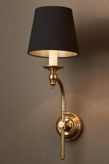 Soho Curved Sconce Base Antique Brass