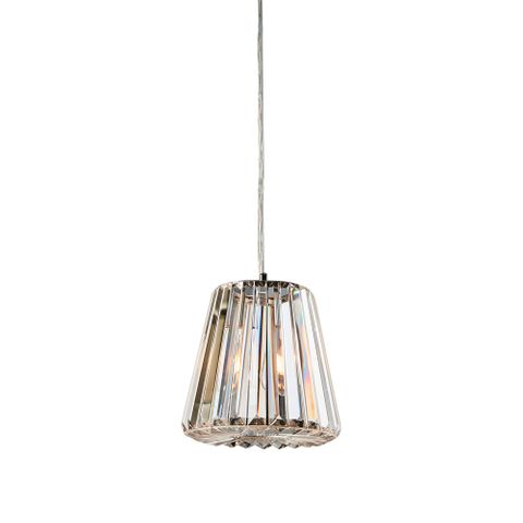 Moulin hanging lamp small w/ clear glass