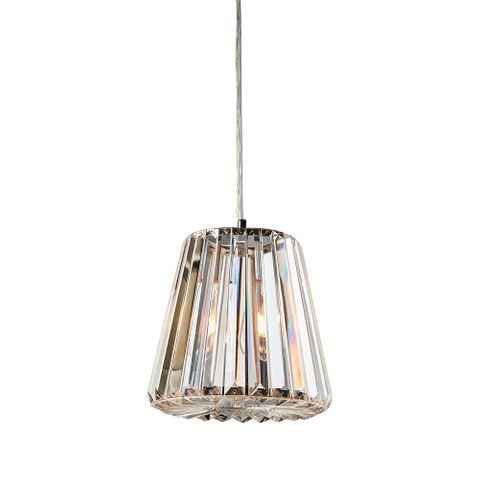 Moulin hanging lamp large w/ clear glass