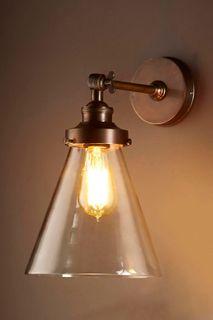 Francis Wall Light Antique Brass