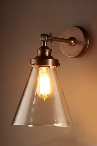 Francis Wall Lamp Antique Brass