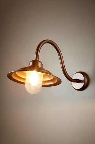 Monteray Sconce Dark Brass