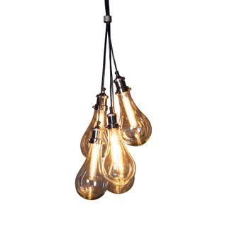 Odean 5 Piece Glass Pendant Lamp