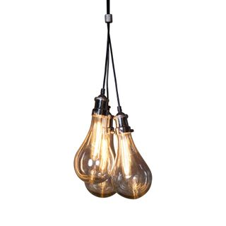 Odean 3 Piece Glass Pendant Lamp
