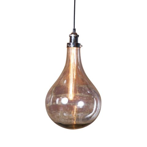 Odean Single Glass Pendant Lamp