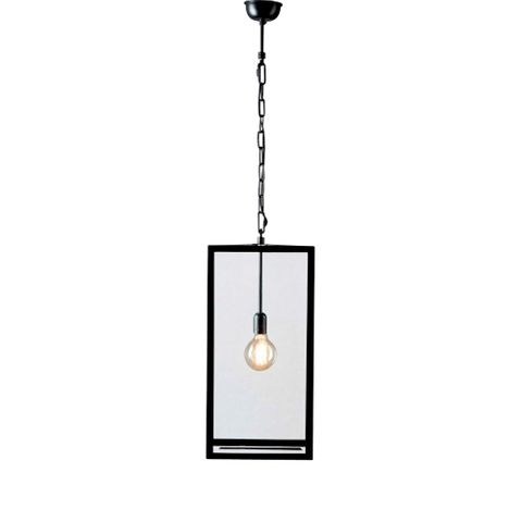 Archie Rose Large Hanging Lamp