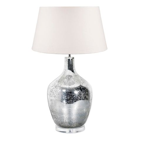 Fortuna Table Lamp Base Large Silver