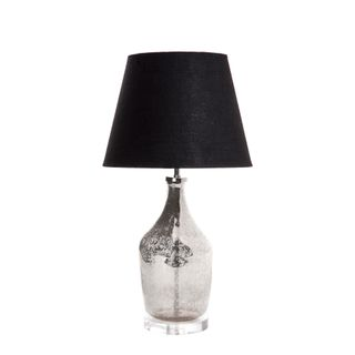 Fortuna Table Lamp Base Small Silver
