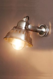 Bush Wall Lamp Antique Silver