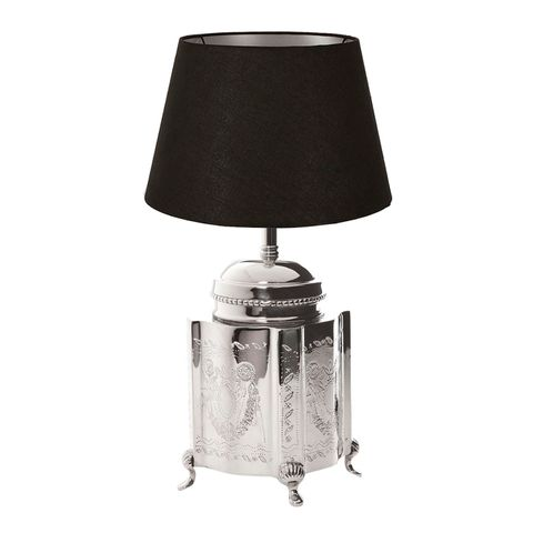 Kensington Lge Table Lamp Base Nickel