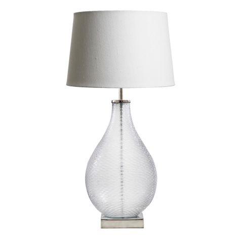 Bellora Glass Table Lamp Base