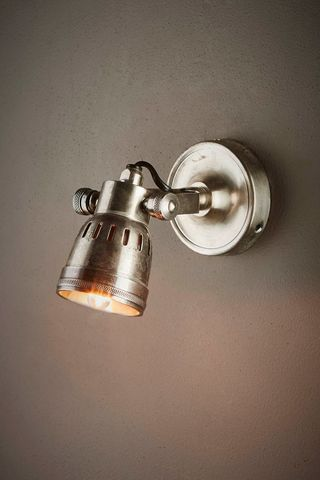 Ford Wall Lamp Antique Silver