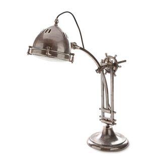Seabury Desk Lamp Antique Silver