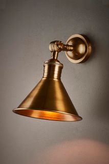 Ventura Wall Lamp Antique Brass