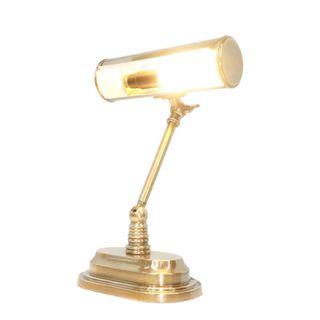 Carlisle Banker's Desk Lamp Brass