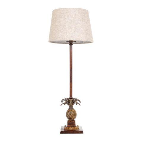 Caribbean Table Lamp Base Brown