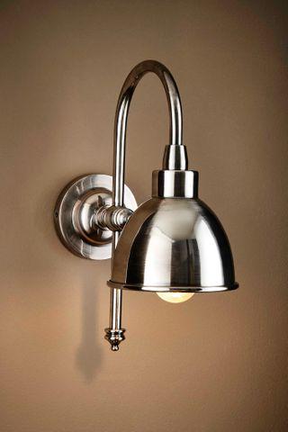Austin Wall Lamp in Silver