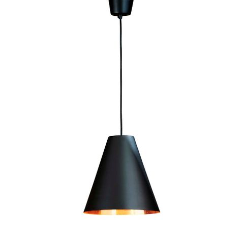 Conrad Hanging Lamp Black Copper
