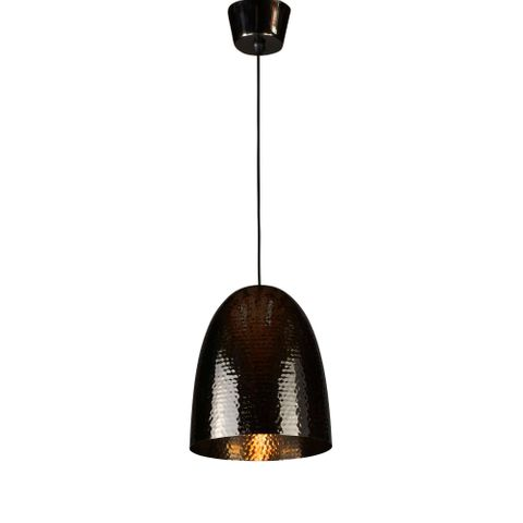 Dolce Beaten Charcoal Hanging Lamp