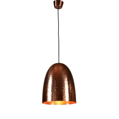 Dolce Beaten Copper Hanging Lamp