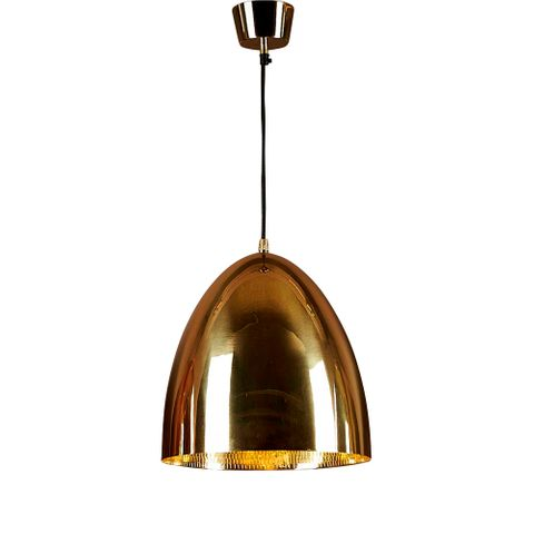 Egg Ceiling Lamp Brass