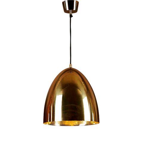 Egg Ceiling Lamp Brass