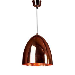 Egg Ceiling Pendant Copper