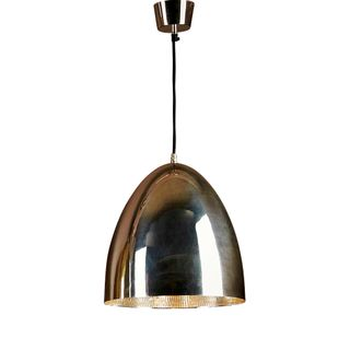 Egg Ceiling Lamp Silver